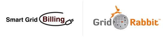 logos of SmartGrid Billing and Grid Rabbit