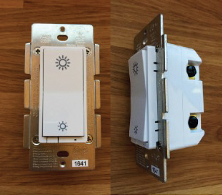 GridRabbit ZigBee enabled In-Wall-Dimmer